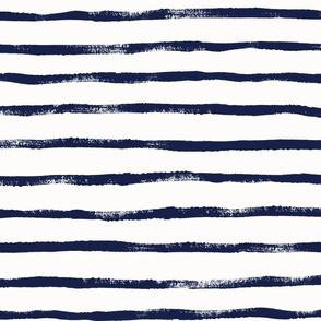 Thin Stripe Indigo