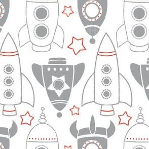 Rocket Race in White