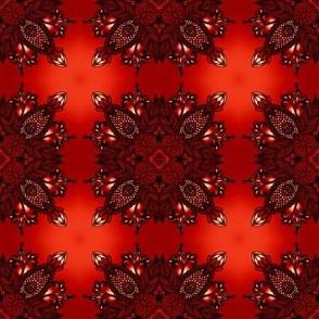 dark cherry red florettes