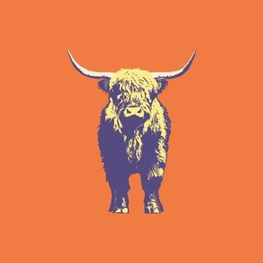 "highlander-orange - 8"" repeat"