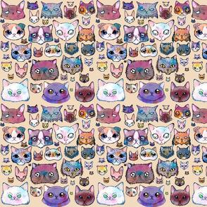 Cat Faces (L)