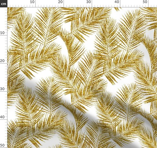Gold Glitter Palm Leaves White Small Spoonflower Find the perfect tropical leaf white background stock illustrations from getty images. fabric by the yard gold glitter palm leaves white small silhuettes faux gold imitation tropical forest white background hot summer palm plant