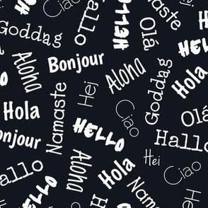 Hello World - Multi Language
