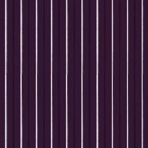 Purple Pinstripe