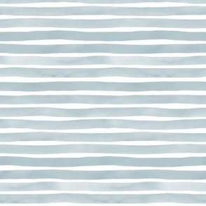 Watercolor Stripes M+M Slate by Friztin