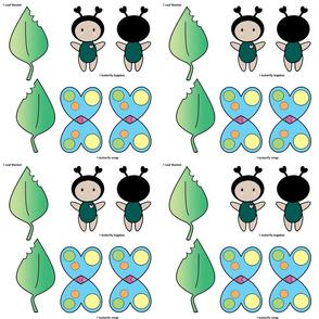 Bugaboo - Blue Butterfly