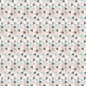 Watercolor triangles - small