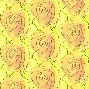 A Stack of Roses - Sunshine