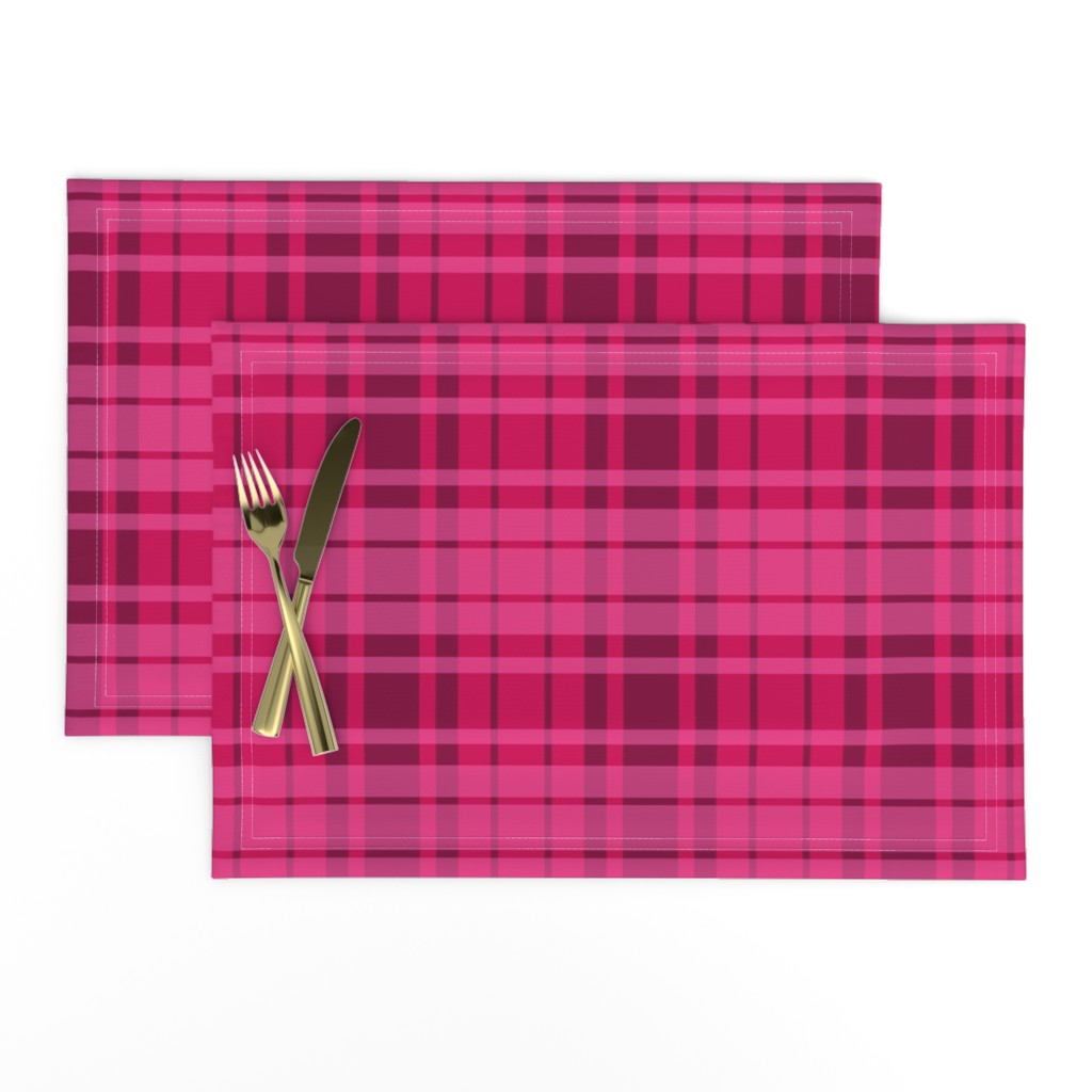 Lamona Cloth Placemats featuring UMBELAS PLAID 3 by umbelas