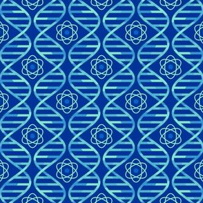 05346531 : dna bases + atom : cool blues