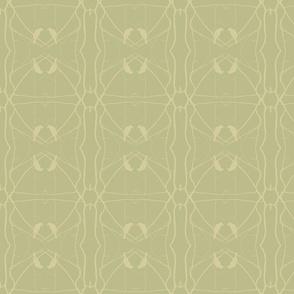 Robin Pattern 2 (Sage & Yellow)
