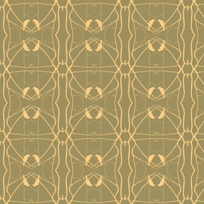 Robin Pattern 2 (Taupe)