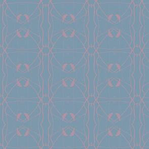 Robin Pattern 2 (Slate & Lavender)