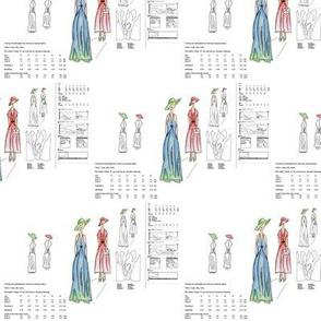 Paper Pattern - White Background