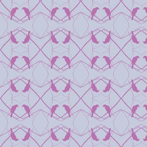Robin Pattern 1 (Light Purple)