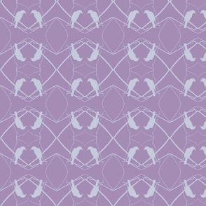Robin Pattern 1 (Purple)