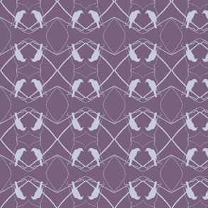 Robin Pattern 1 (Plum)