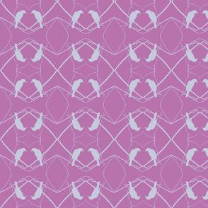 Robin Pattern 1 (Fuchsia)