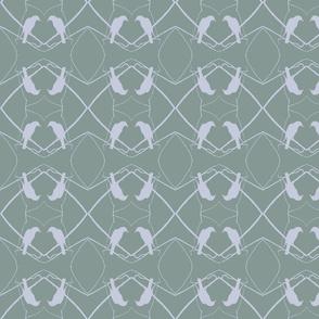 Robin Pattern 1 (Sage)