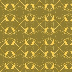 Robin Pattern 1 (Umber)