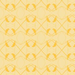 Robin Pattern 1 (Cadmium Yellow)