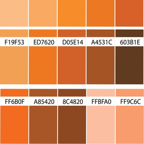 16-04W Color Swatch Map Yellow Orange_Miss Chiff Designs