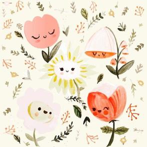 Dreamy Spring Happy Flowers