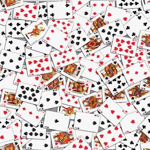 Playing cards Pattern - Black Backs