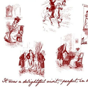 Emma Toile Red