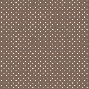 Brown Polka Dot Madness
