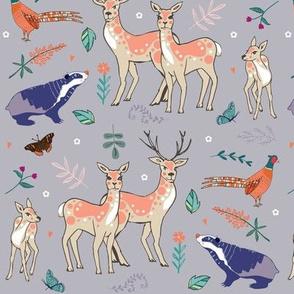 Deer & Badger