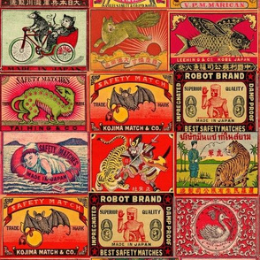 japanese matchbook covers