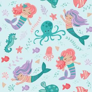 Under The Sea - Mermaids
