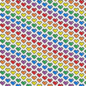 Pixel Heart (Rainbow)