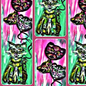Selket & Her Cat  Balloons