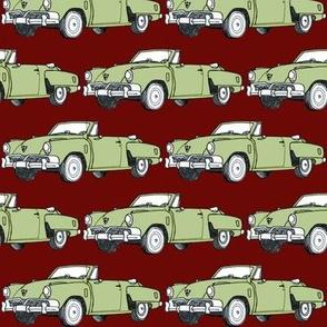 1952 Studebaker Commander convertible (green/burgundy)