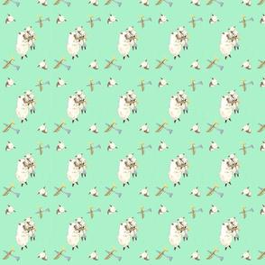 Sheep_Horn_Players_Fabric_Design