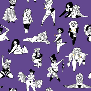 Burlesque Ballyhoo Ultra Violet