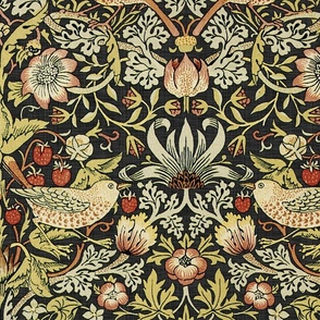 William Morris ~ Strawberry Thief ~ Soft