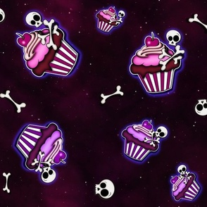 Bones and Cupcakes in Space