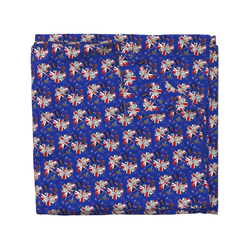 Wyandotte Duvet Cover featuring Pom U.K. Lover by barbyyy