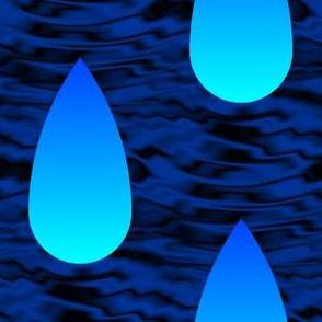 00536867 © Cherenkov rain : blue