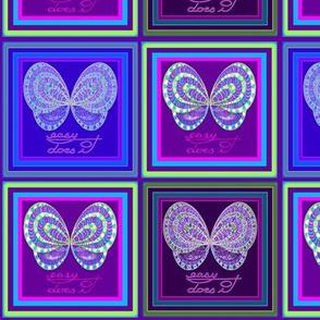 Purple Butterfly Easy Does It