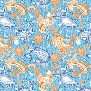 Ocean Paisley