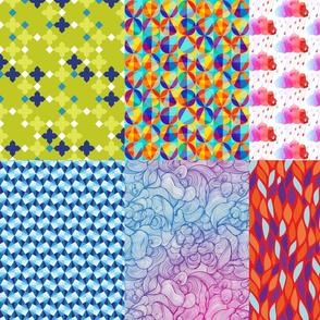 Print Blocks Abstract Designs Fat Quarter