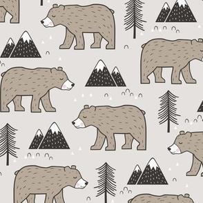 Mountain Bear  Woodland