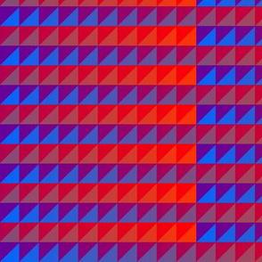 ©2011 quilt slide purple red - blue orange