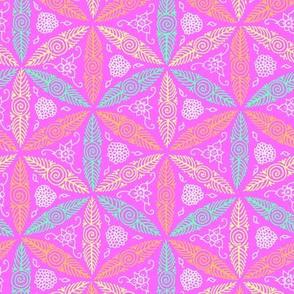 pink Hawaiian pysanky