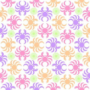 05375647 : crab urchin 4g X tail 3 : pastel