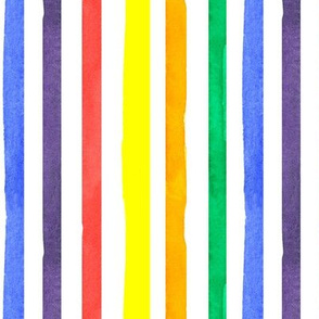 Stripes in Primary Colors